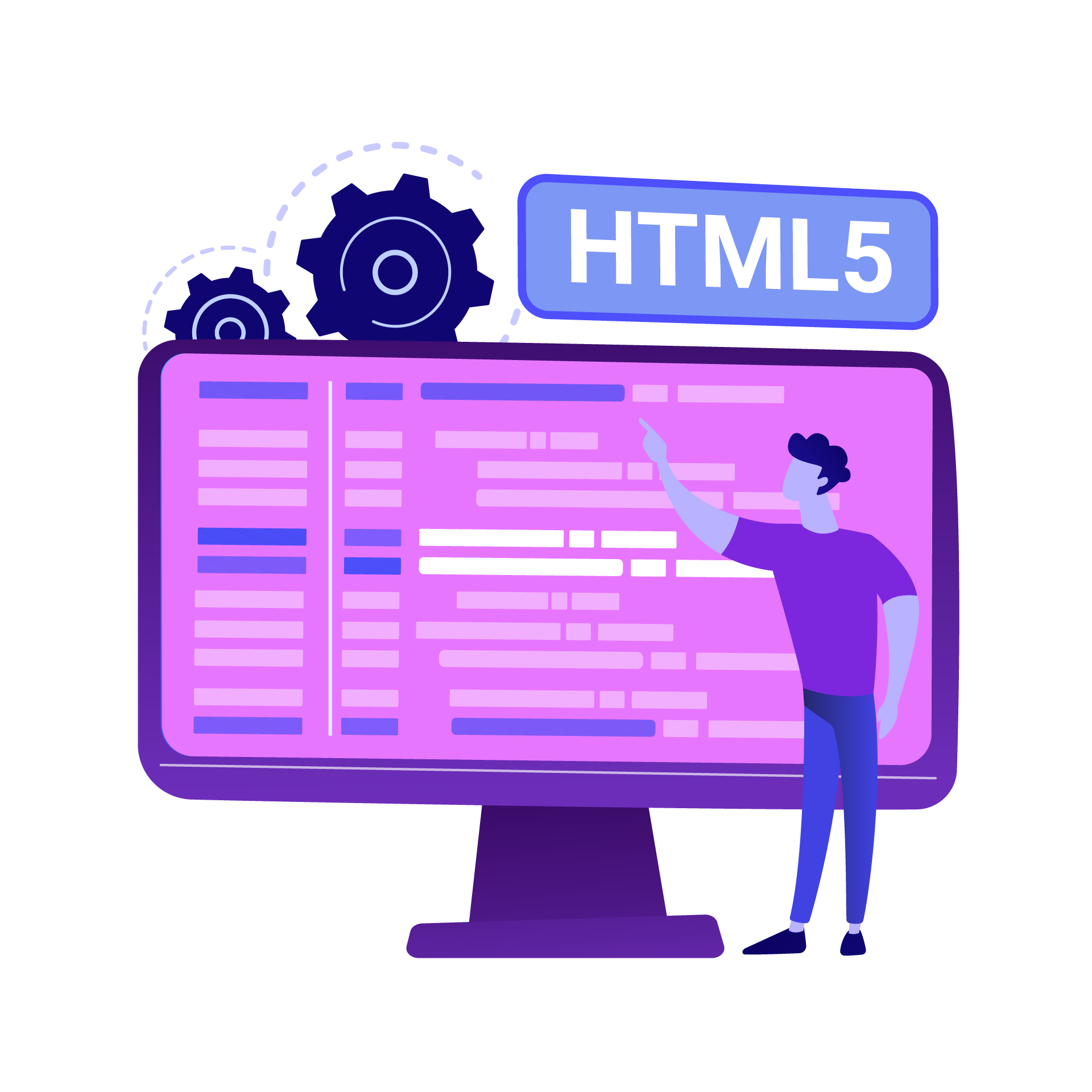 Illustration HTML5