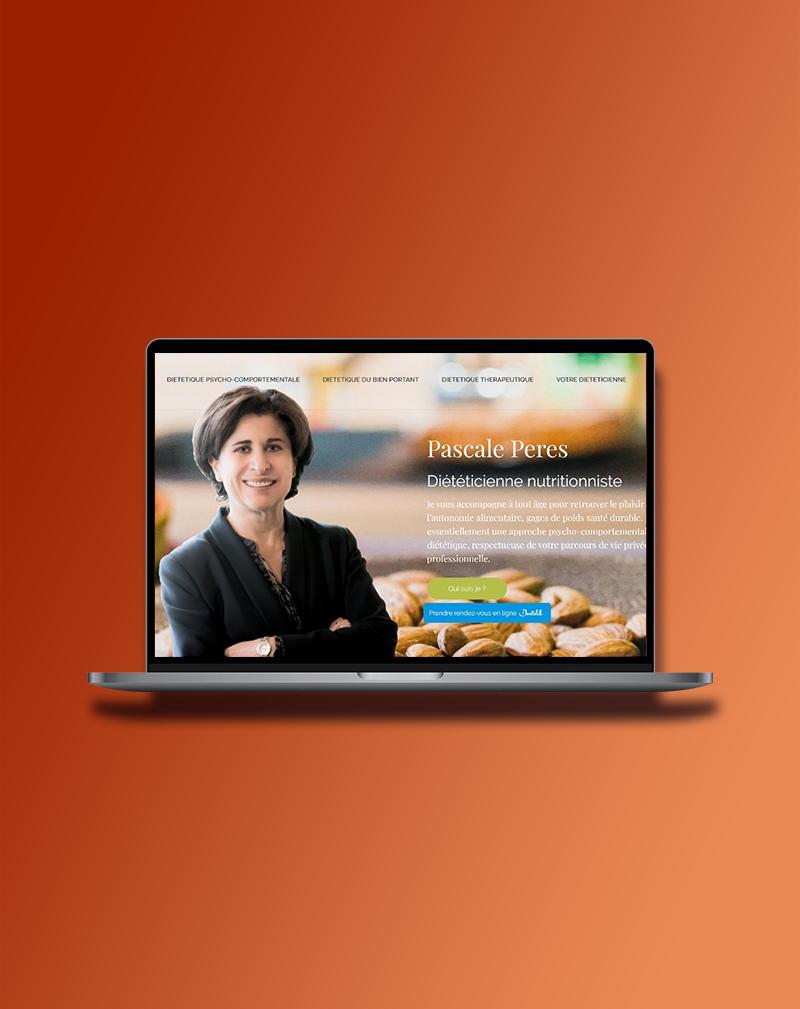 Site internet Pascale Pérès
