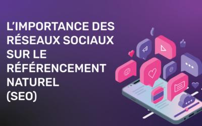 L'importance des réseaux sociaux sur le référencement naturel (SEO)